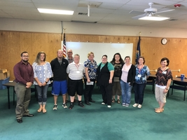 USD 210 Welcomes New Staff