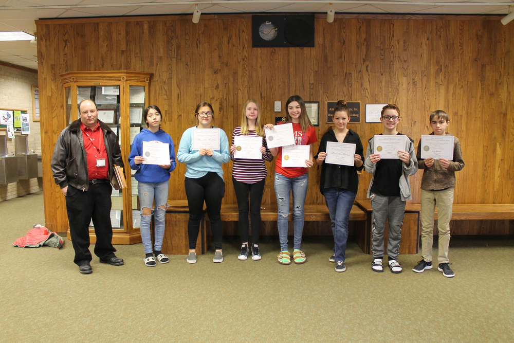 HMS Scholastic Scholarship Art Winners