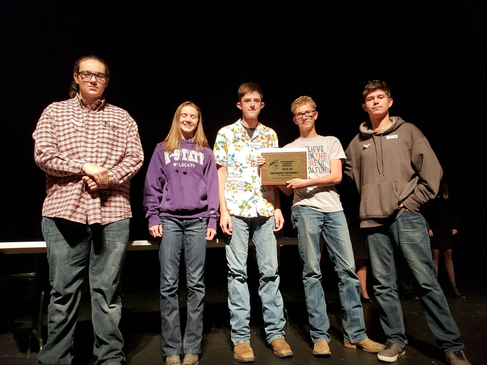 2019 HHS FFA Greenhand winners