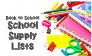 HUGOTON ELEMENTARY SUPPLY LISTS