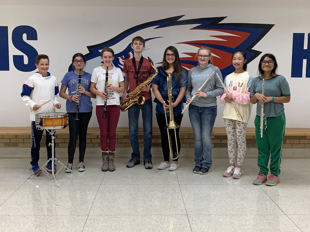 HMS Band Students Selected