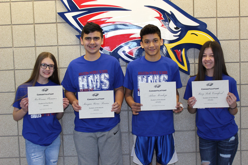 HMS January Students of the Month