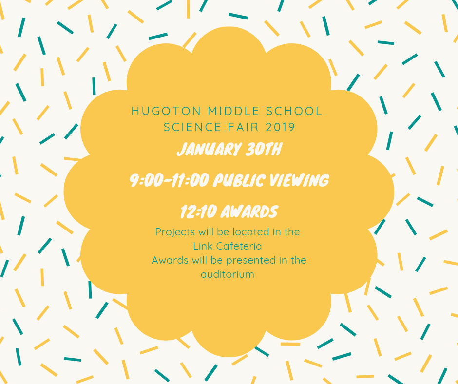 HMS Science Fair Information