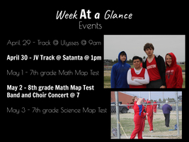 HMS Week At A Glance!