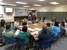 Elementary Site Council Meets