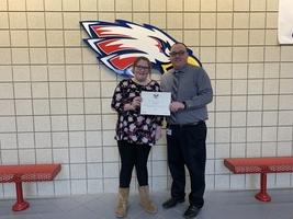 HMS Student Receives Award