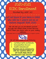 2020-2021 Enrollment Time Is Here!