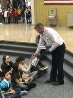 Hugoton Rotary Gives 3rd Graders Dictionaries