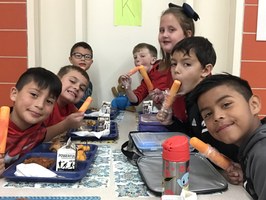 1st Principal's Lunch Bunch of the Year!