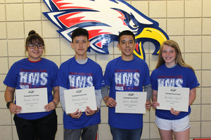 HMS March Students of the Month