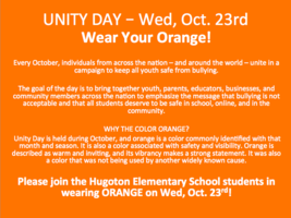 Wear Your Orange!