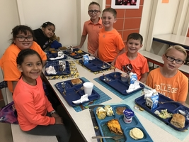 Students Wear Orange For Unity Day!