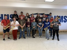 HHS 5 states honor band 2019