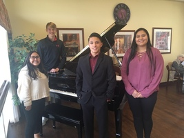 HHS piano students perform at Pioneer Manor 12/2019