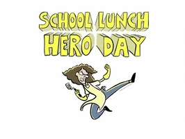 Today Is Your Day Lunch Ladies!