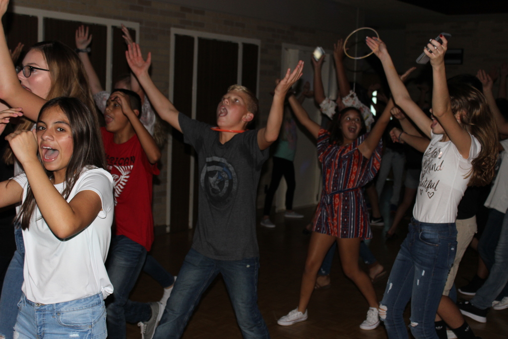 Students at Kickoff Dance