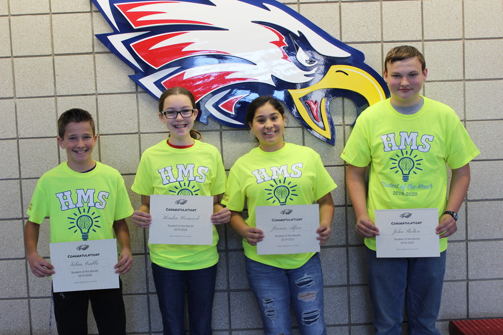 HMS September Students of the Month