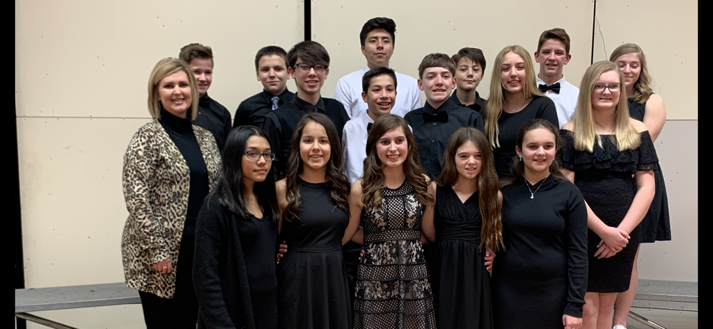 SWKMEA Honor Choir Students