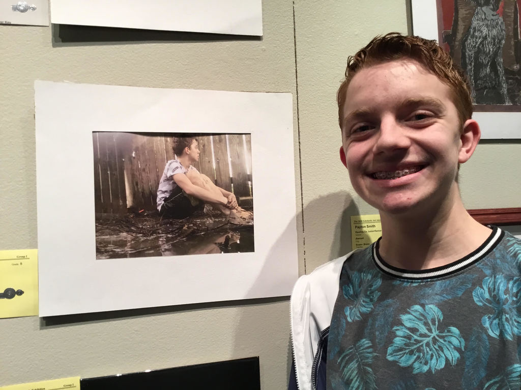 Scholastic Art Show Winner